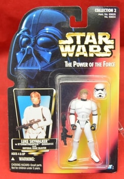 Red Carded Luke Skywalker Stormtrooper Figure