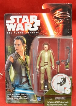 TFA Rey Resistance Outfit Figure
