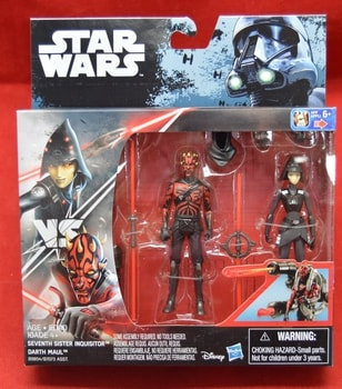 Rogue One Rebels Seventh Sister Inquisitor Darth Maul Figures