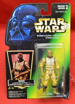 Green carded Foreign Bossk Figure