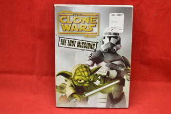 Star Wars Clone Wars The Lost Missions DVD Set
