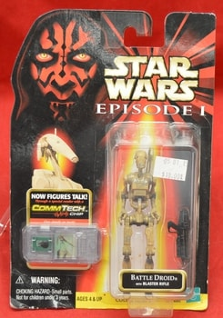 EP 1 Battle Droid Brown Figure