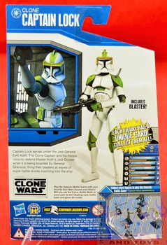 The Clone Wars Clone Captain Lock