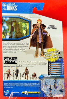 The Clone Wars CW65 Jar Jar Binks
