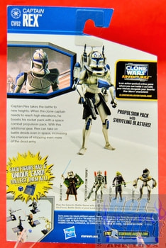 The Clone Wars CW62 Captain Rex