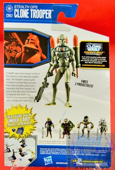 The Clone Wars CW57 Stealth Ops Clone Trooper