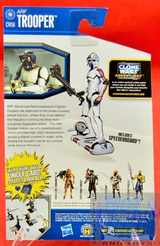 The Clone Wars CW56 Arf Trooper