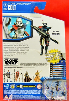 The Clone Wars CW52 Clone Commander Colt