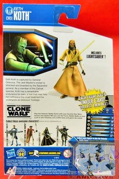 The Clone Wars CW51 Eeth Koth