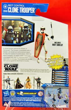 The Clone Wars CW49 Riot Control Clone Trooper