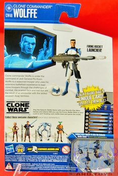 The Clone Wars CW48 Clone Commander Wolffe