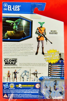 The Clone Wars CW El-Les