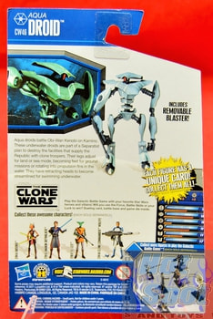 The Clone Wars CW46 Aqua Droid