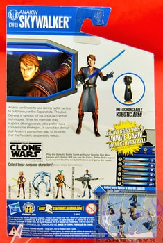 The Clone Wars CW45 Anakin Skywalker