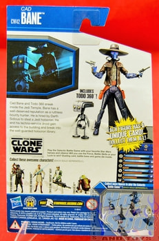 The Clone Wars CW42 Cad Bane