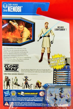 The Clone Wars CW40 Obi-Wan Kenobi