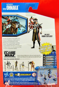 The Clone Wars CW39 Ohnaka