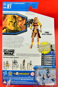 The Clone Wars CW38 Clone Commander Jet