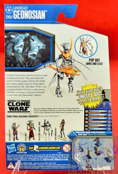 The Clone Wars CW34 Undead Geonosian