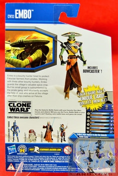 The Clone Wars CW33 Embo