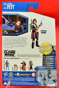 The Clone Wars CW32 Boba Fett