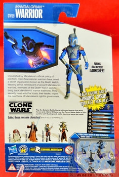 The Clone Wars CW29 Mandalorian Warrior