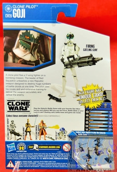 The Clone Wars CW28 Clone Pilot Goji