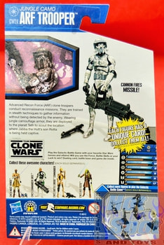 The Clone Wars CW Jungle Camo Arf Trooper