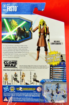 The Clone Wars CW23 Kit Fisto