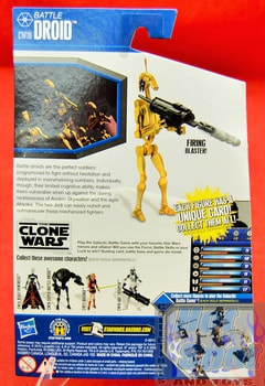 The Clone Wars CW19 Battle Droid
