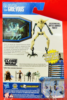 The Clone Wars CW10 General Grievous