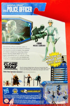 The Clone Wars CW09 Mandalorian Police Officer
