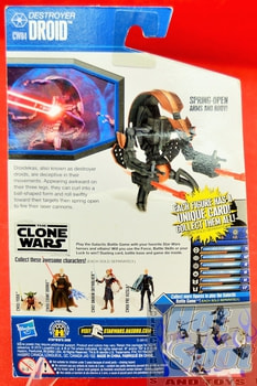 The Clone Wars CW04 Destroyer Droid