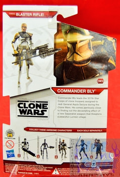 Star Wars The Clone Wars CW39 Commander Bly