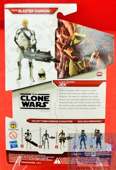 Star Wars The Clone Wars CW38 Clone Trooper Jek