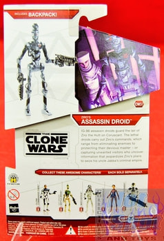 Star Wars The Clone Wars CW37 Ziro's Assassin Droid