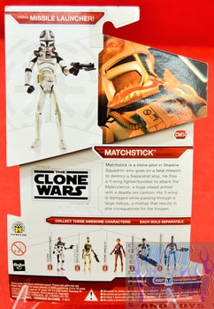 Star Wars The Clone Wars CW34 Matchstick
