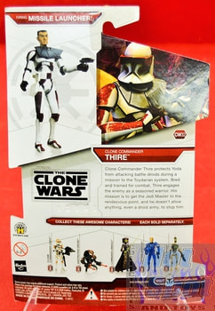 Star Wars The Clone Wars CW32 Clone Commander Thire