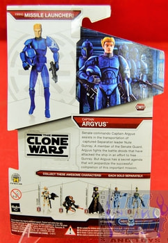 Star Wars The Clone Wars CW31 Captain Argyus