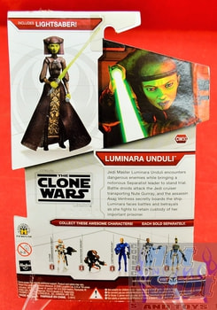 Star Wars The Clone Wars CW30 Luminara Unduli