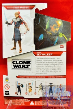 Star Wars The Clone Wars CW21 Anakin Skywalker