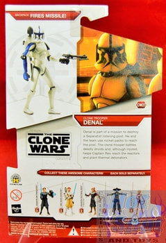 Star Wars The Clone Wars CW20 Clone Trooper Denal