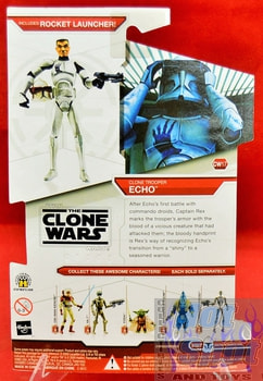 Star Wars The Clone Wars CW17 Clone Trooper Echo