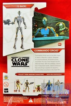 Star Wars The Clone Wars CW16 Commando Droid