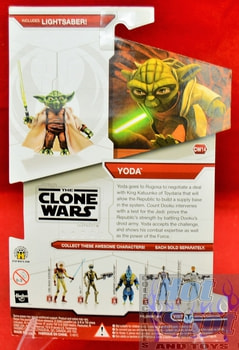 Star Wars The Clone Wars CW14 Yoda