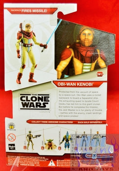 Star Wars The Clone Wars CW12 Obi-Wan Kenobi