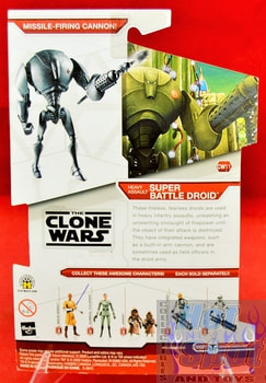 Star Wars The Clone Wars CW11 Super Battle Droid