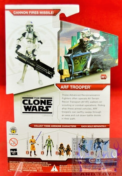 Star Wars The Clone Wars CW10 Arf Trooper