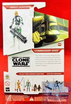 Star Wars The Clone Wars CW09 Commander Gree