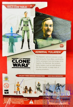Star Wars The Clone Wars CW07 Admiral Yularen